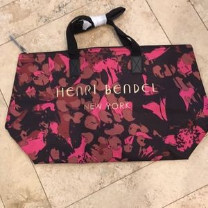Henri Bendel floral Camo printed tote NEW